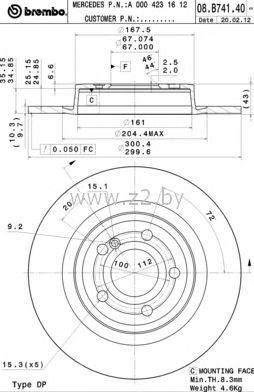 Тормозной диск