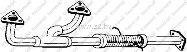 Труба глушителя