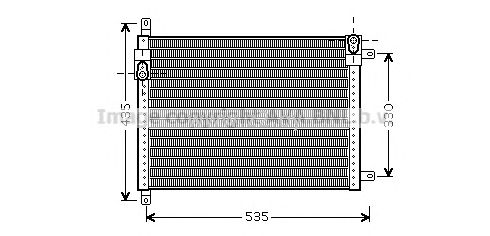 Радиатор кондиционера