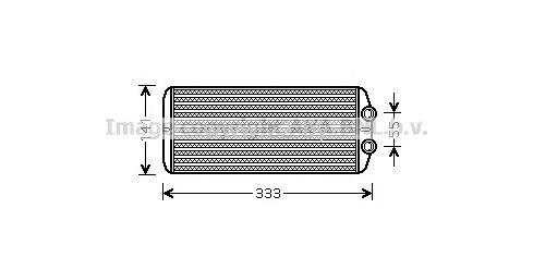 Радиатор печки