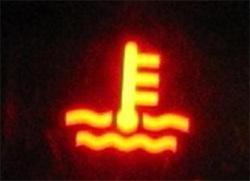 Индикатор перегрева двигателя